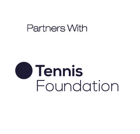 partners with tennis foundation