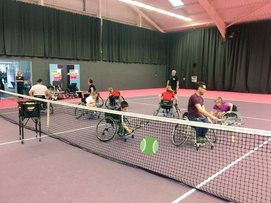 Tennis Foundation launch