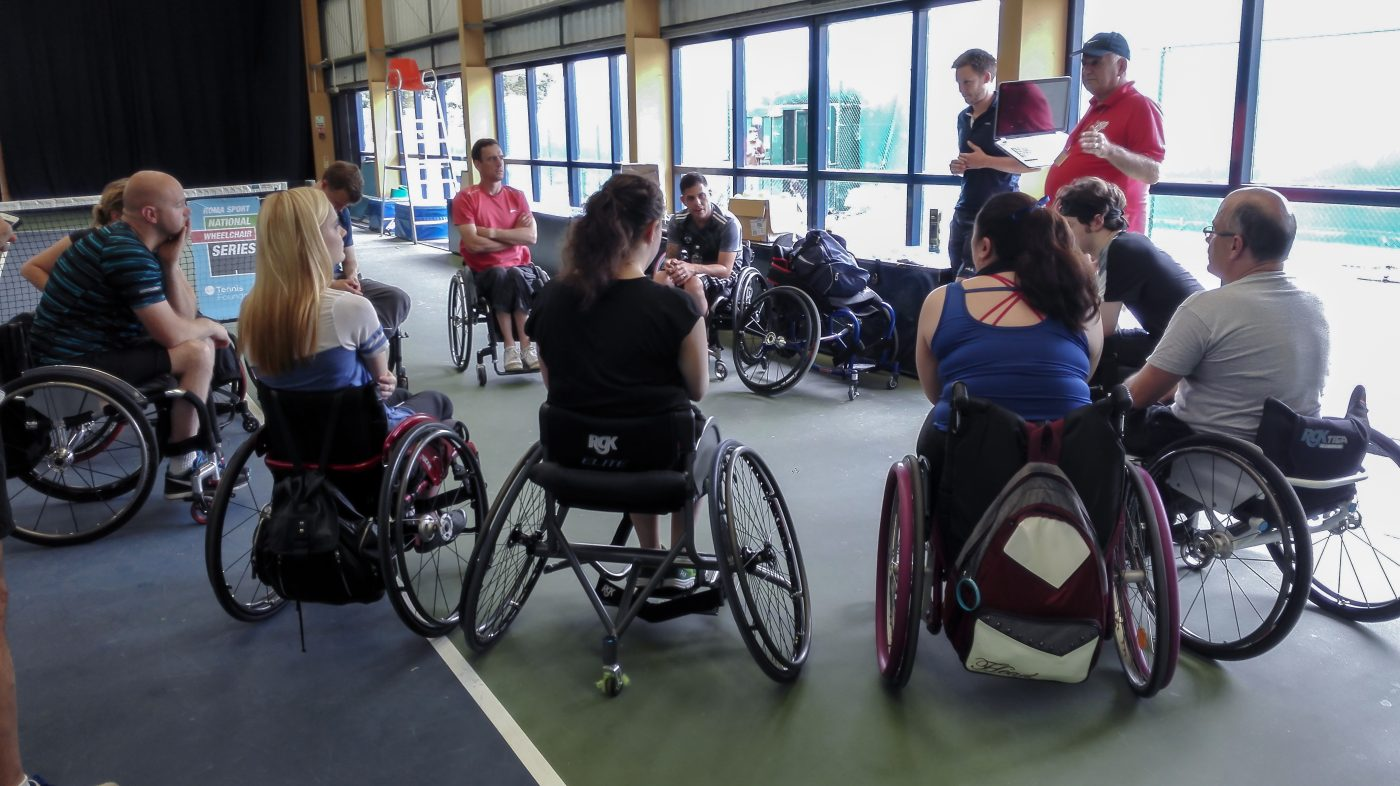 Roma Sport National Wheelchair Tennis Series Gosling Sports Park