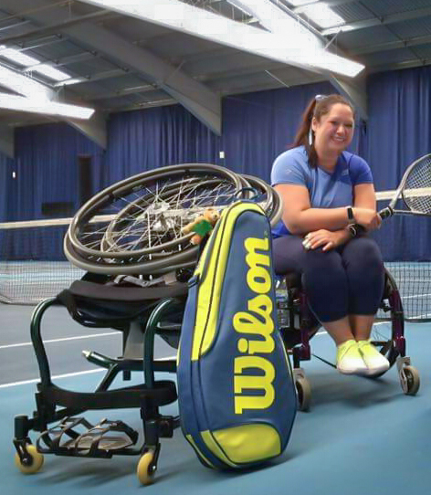 Tabitha Fung Wheelchair Tennis