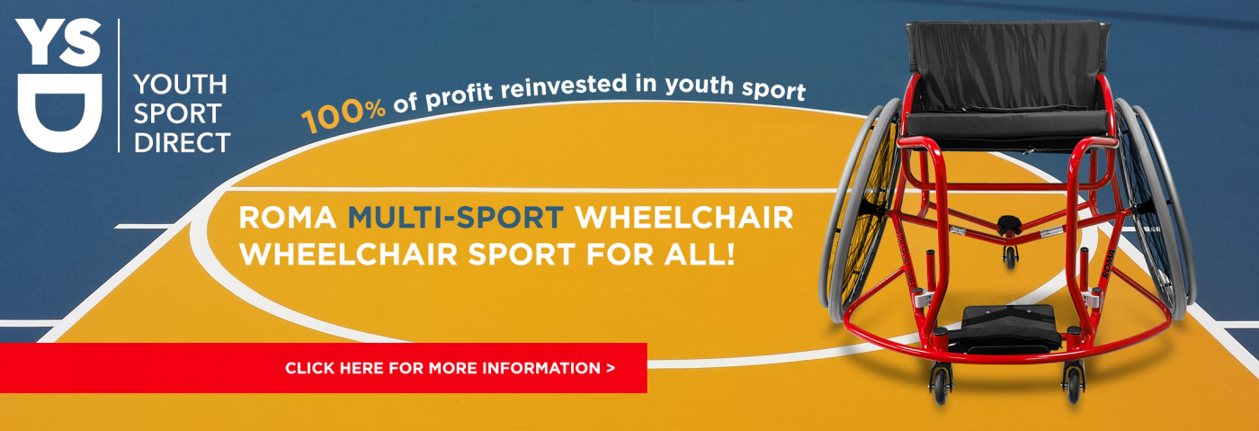 Roma Sport Youth Sport Direct Multi Sport Wheelchair