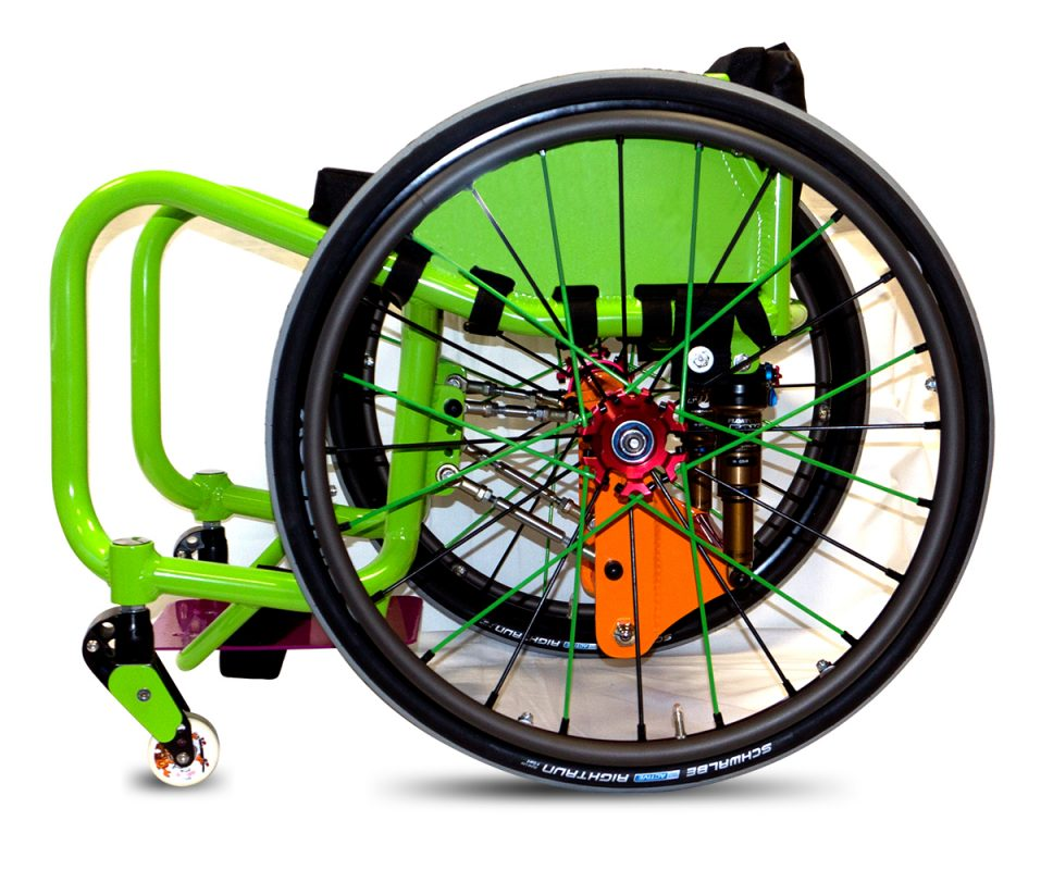 Roma Sport SK8R WCMX Wheelchair Lily Rice