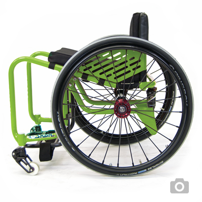 skate wcmx wheelchair RMA sport lily rice made to measure