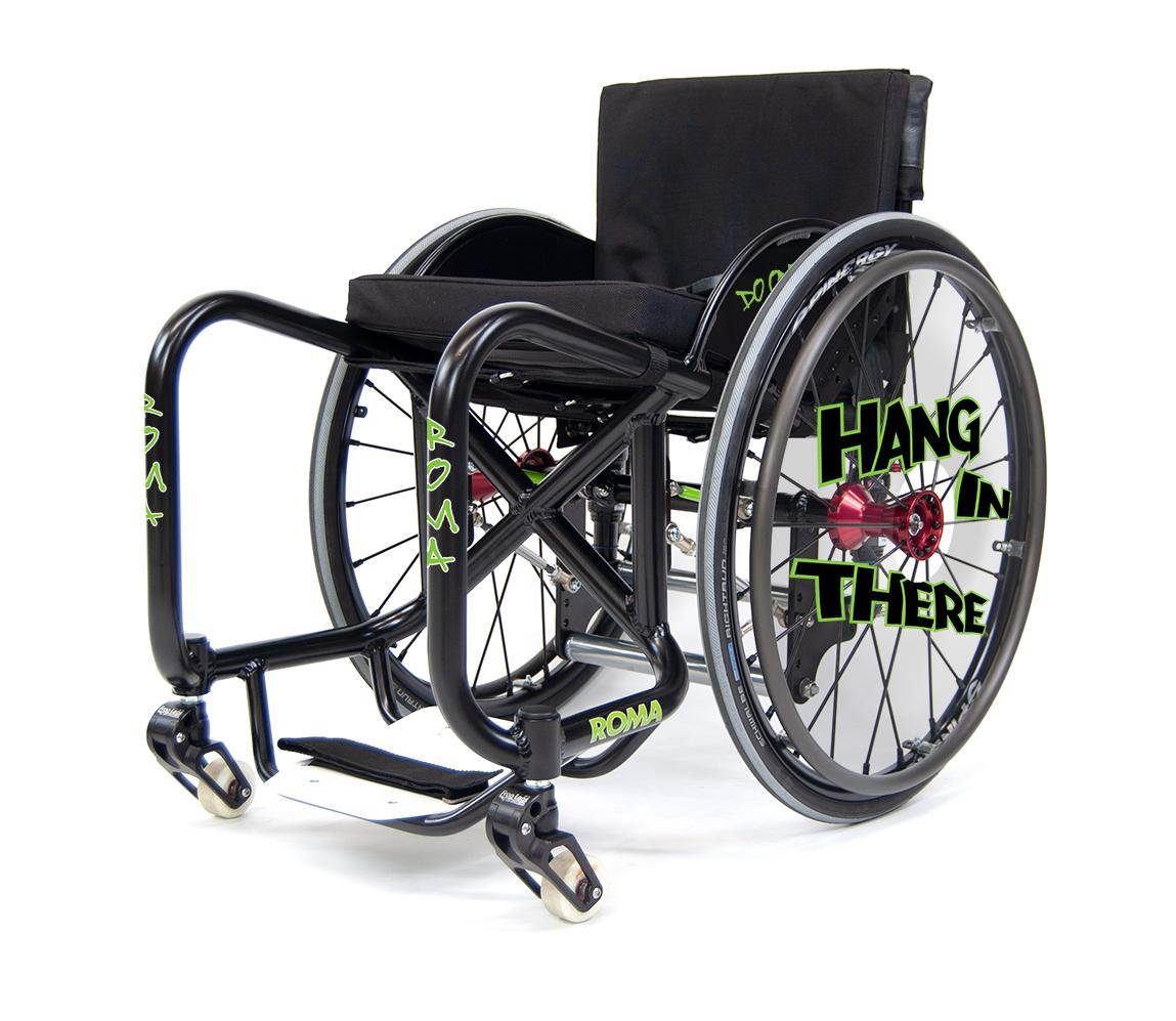 Roma Sport Skate Chair WCMX SK8R