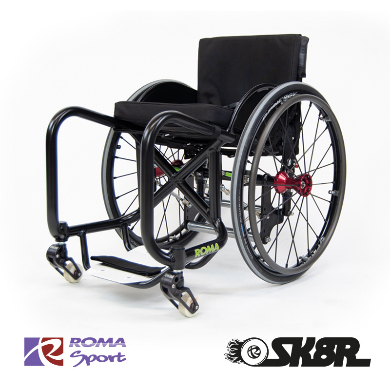 Skate Wheelchair wcmx Roma Sport