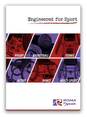 Roma Sport Rugby WCMX Basketball Tennis Brochure