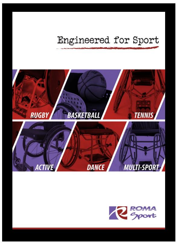 Roma Sport Rugby WCMX Basketball Tennis Brochure