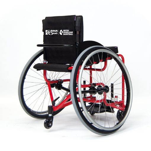 red-club-basketball-wheelchair-steel-frame-rmasport-rma-sport-British-wheelchair-basketball-bwb