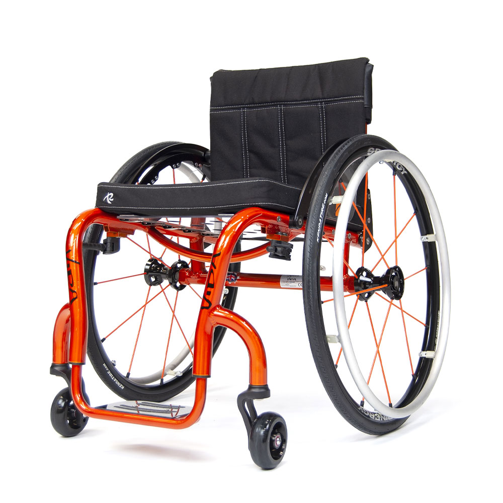 vida active wheelchair RMA Sport Active chair Spinergy Wheels Aluminum Frame
