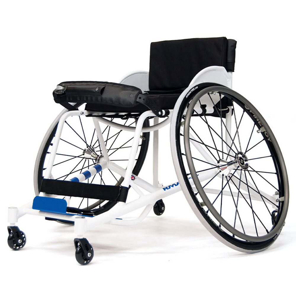 Badminton Wheelchairs RMA Sport Badminton Chair Aluminium Frame Spinergy Wheels