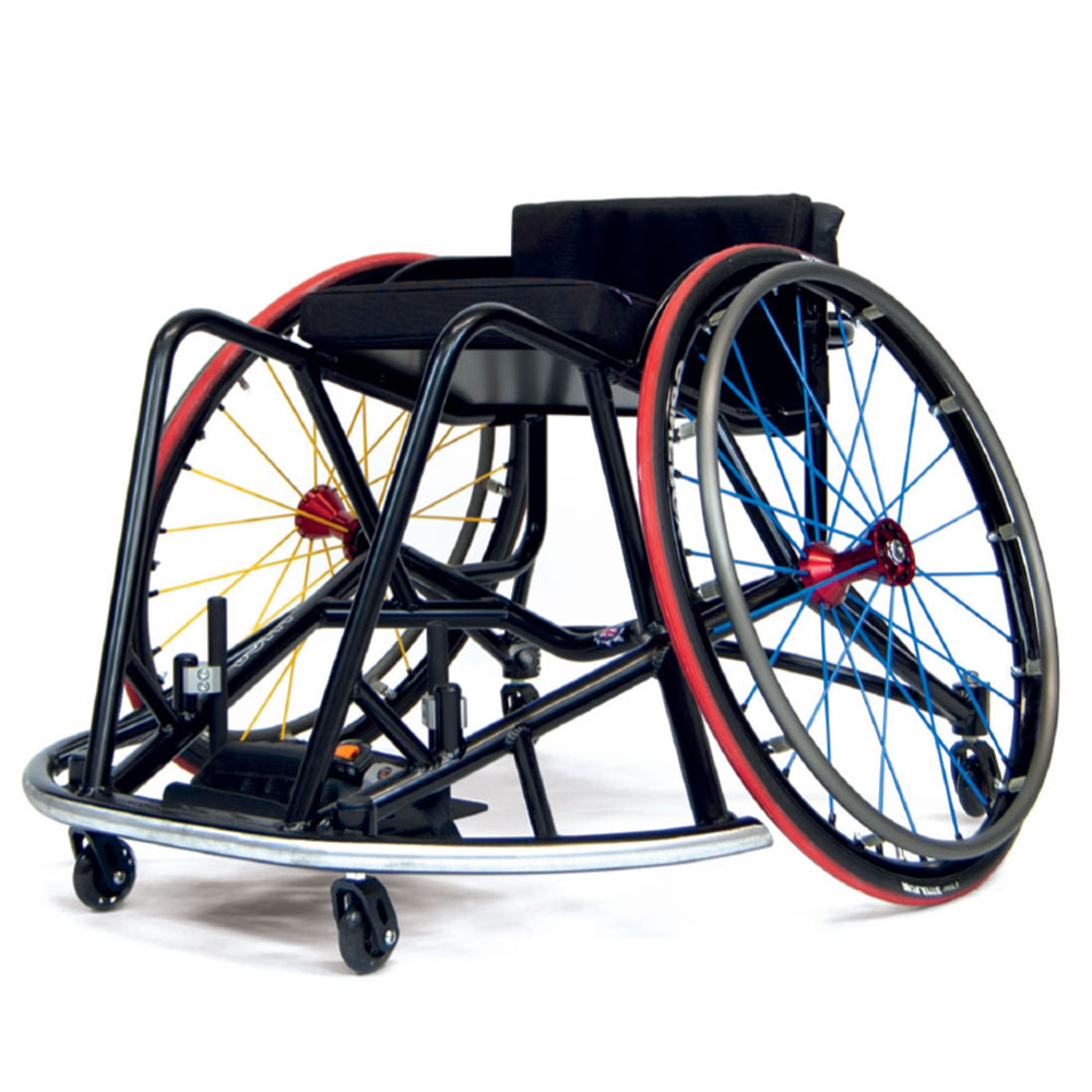 RMA Sport Rugby League Made to Measure Wheelchairs Aluminium Frame Spinergy Wheels