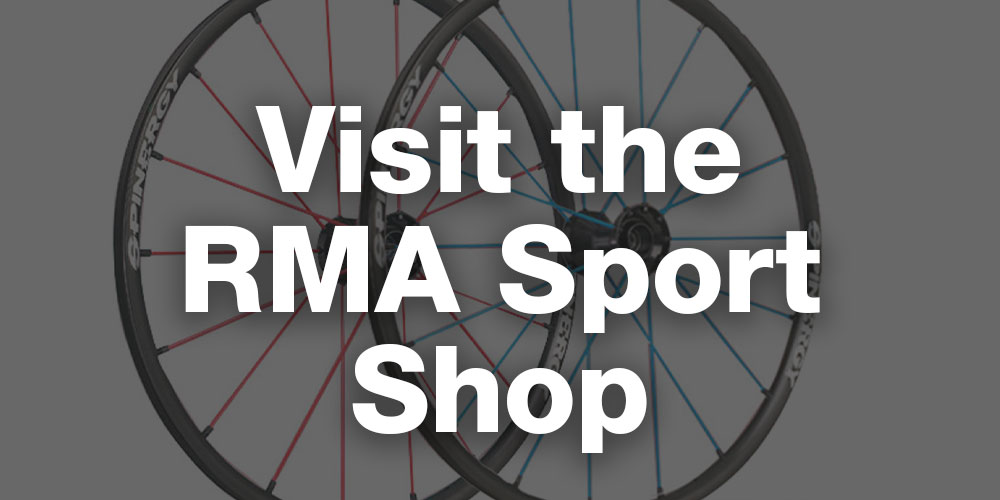 rma sport wheelchair sport shop spinergy wheels castor forks frog legs tyres kenda schwable inner tubes