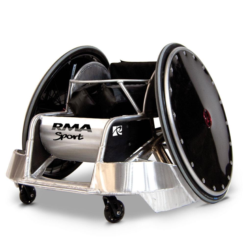 rugby wheelchair murderball rma sport RMA Sport RMASPort WheelchairRugby Spinergy wheels Aluminium Frame