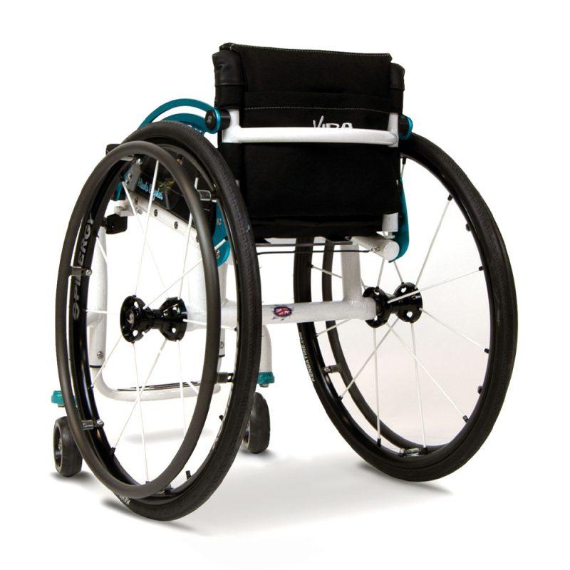 vida-active-wheelchair-daily-wheelchair-spinergy-wheels-rigid-frame-folding-backrest